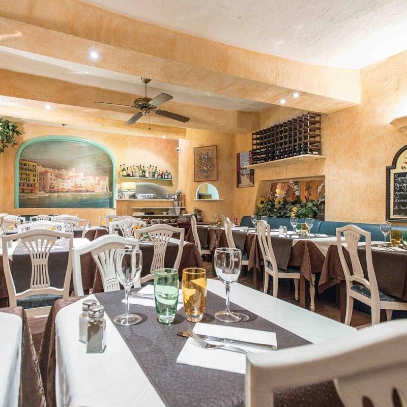 Le restaurant - La Grignotière - Villefranche-sur-Mer